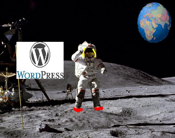 Blogging on the moon: still OK