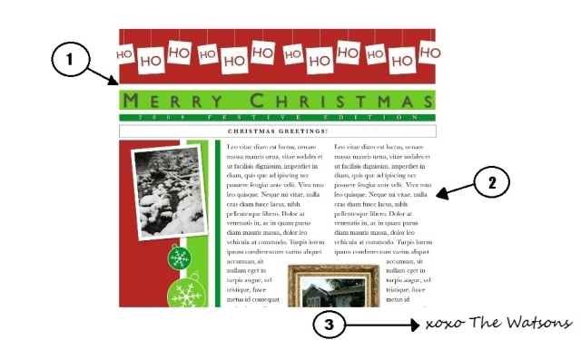 Christmasnewsletter